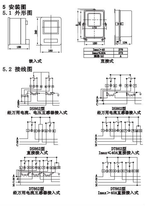 三相机械式电表